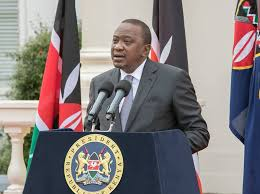 President Uhuru Kenyatta addresses the media recently (PHOTO/File)