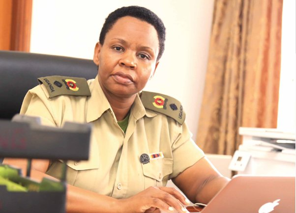 Anti-corruption Unit in the Office of the President led by Lt Col Edith Nakalema   (PHOTO/File)