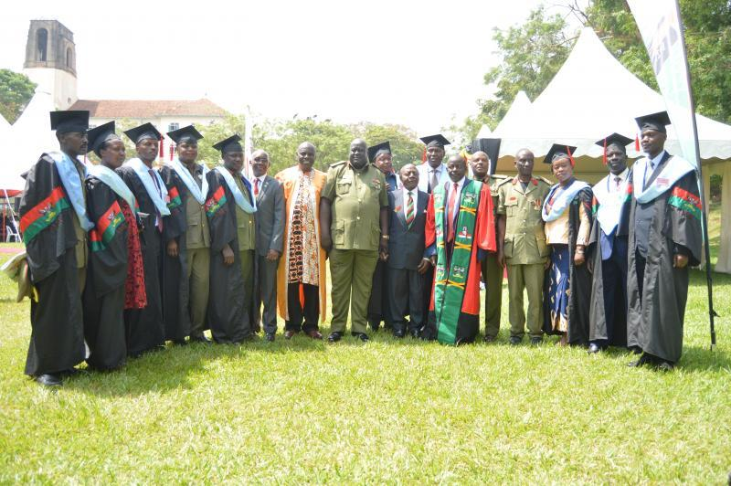 Master of Arts in Defence and Security Studies pioneer group graduates.