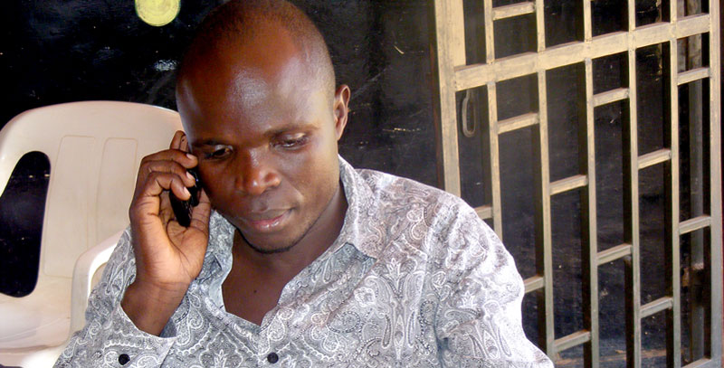 Singer Ronald Mayinja rejoined the Golden Band music group. (FILE PHOTO)