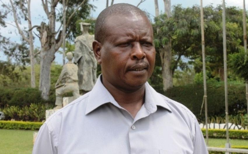 Mbarara High School Headmaster Benon Twinomujuni