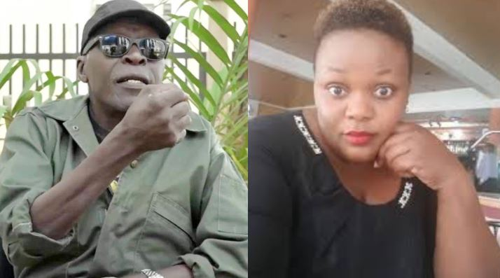 Kadongo Kamu artistr Catherine Kusasira'has declined to write a statement against The controversial Retired Brigadier Kasirye Ggwanga after he shot at the cat her aides were in (FILE PHOTO)