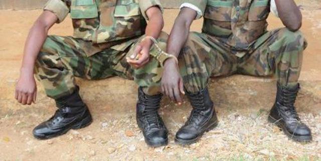 Five Uganda People's Defence Forces