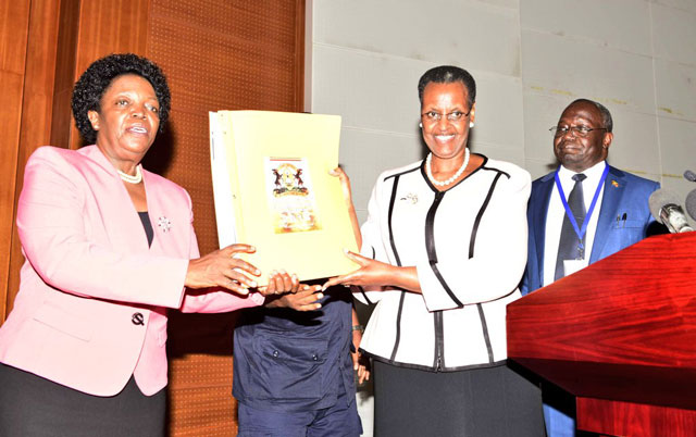 Education and Sports Minister Janet Museveni will release the 2019 Primary Leaving Examinations (PHOTO/File)