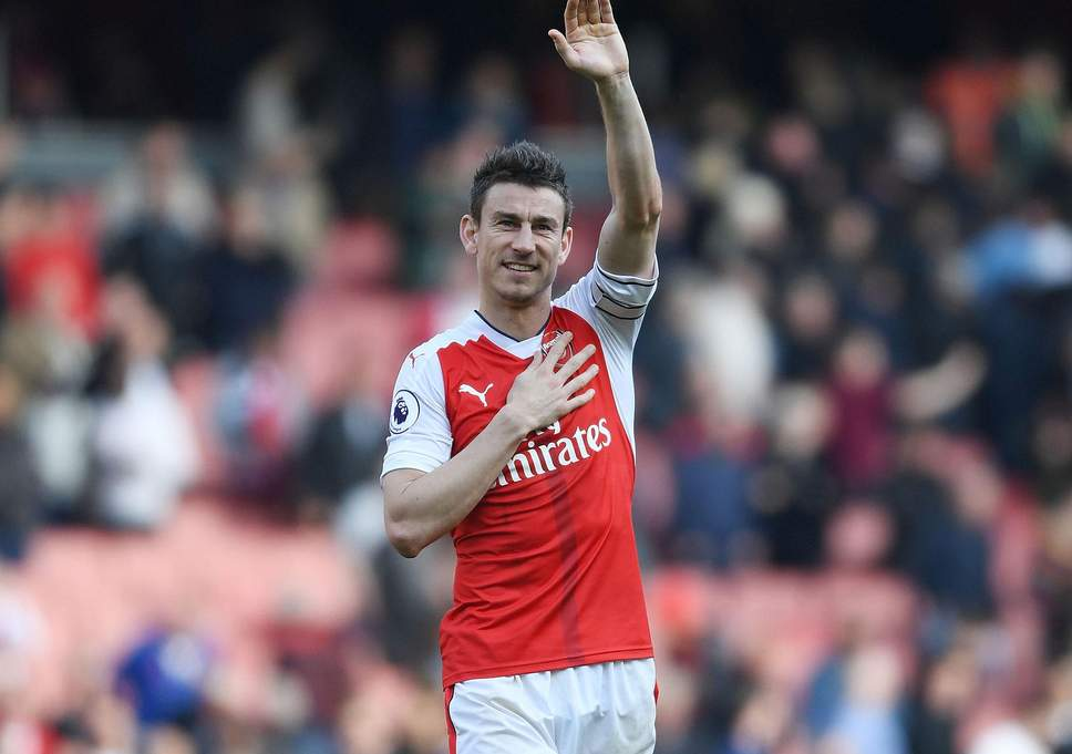 Koscielny scored Arsenal's second in the 2-0 win over Chelsea on Saturday (Photo by Agency)