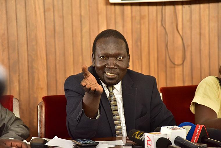 MP Manjiya -Buduuda. John Baptist Nambeshe has vowed to storm the NRM Party retreat in Kyankwanzi (FILE PHOTO)