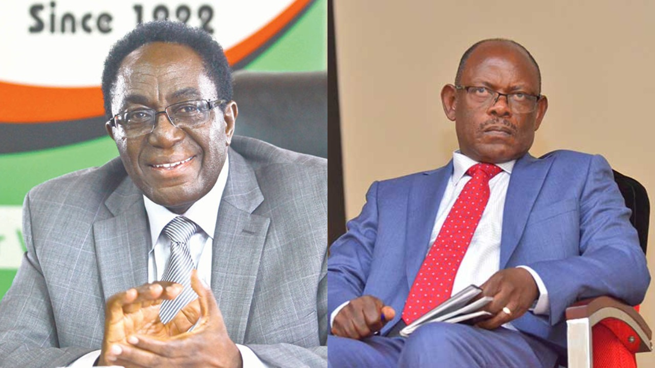Former Makerere University Vice-Chancellor, Prof. Ddumba Ssentamu accused Prof. Nawangwe, (then Deputy Vice Chancellor in charge of Administration) of gross conduct and insubordination (FILE PHOTO)