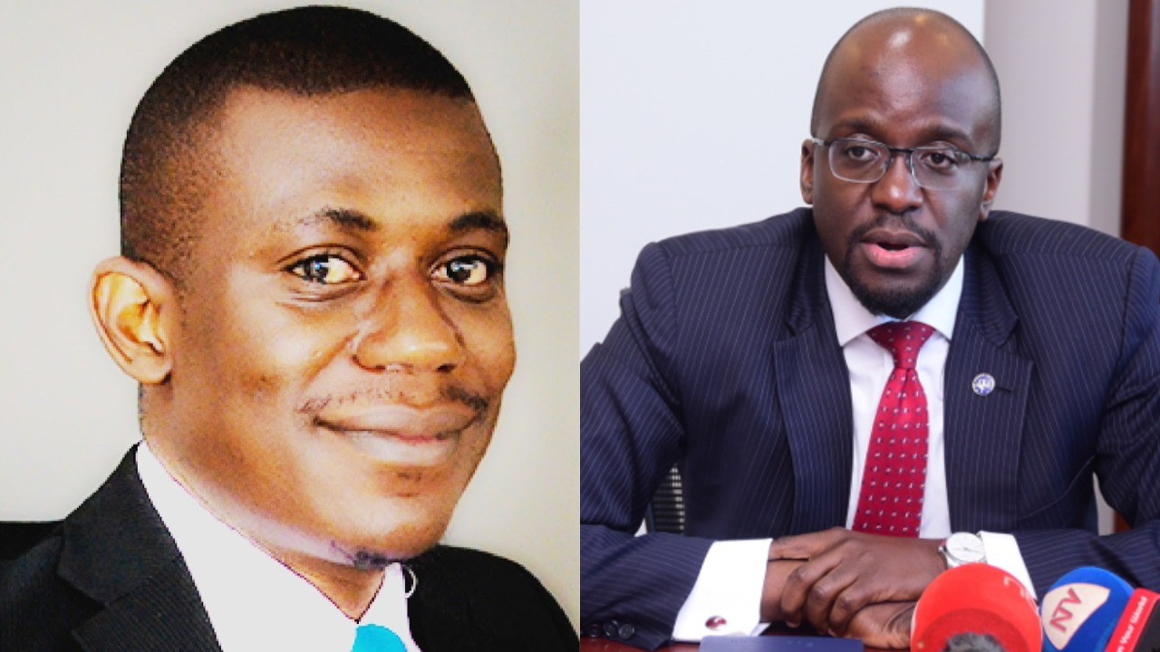 Notorious blogger, Titus Seruga has dragged city lawyer Mpanga back into Crane, Dfcu Bank saga