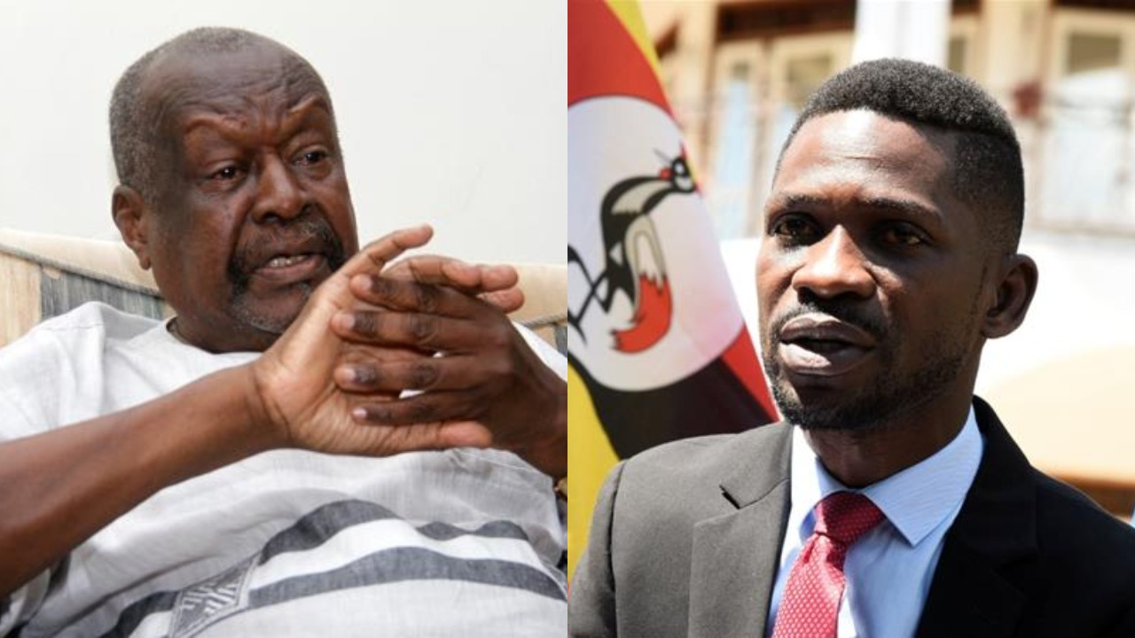 Senior Presidential Advisor on Media Relations, Mr John Nagenda has said that Leader of the People Power pressure group, Robert Kyagulanyi, Mugisha Muntu and Opposition Lynchpin Dr. Kizza Besigye lack the creditials to run a state (FILE PHOTO)