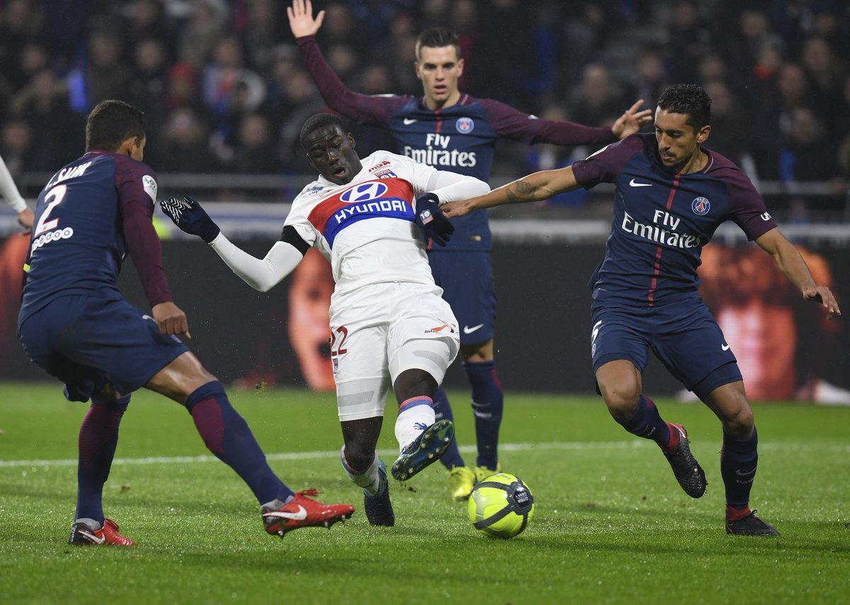 PSG lost 2-1 to Lyon last weekend (Photo by Agency)