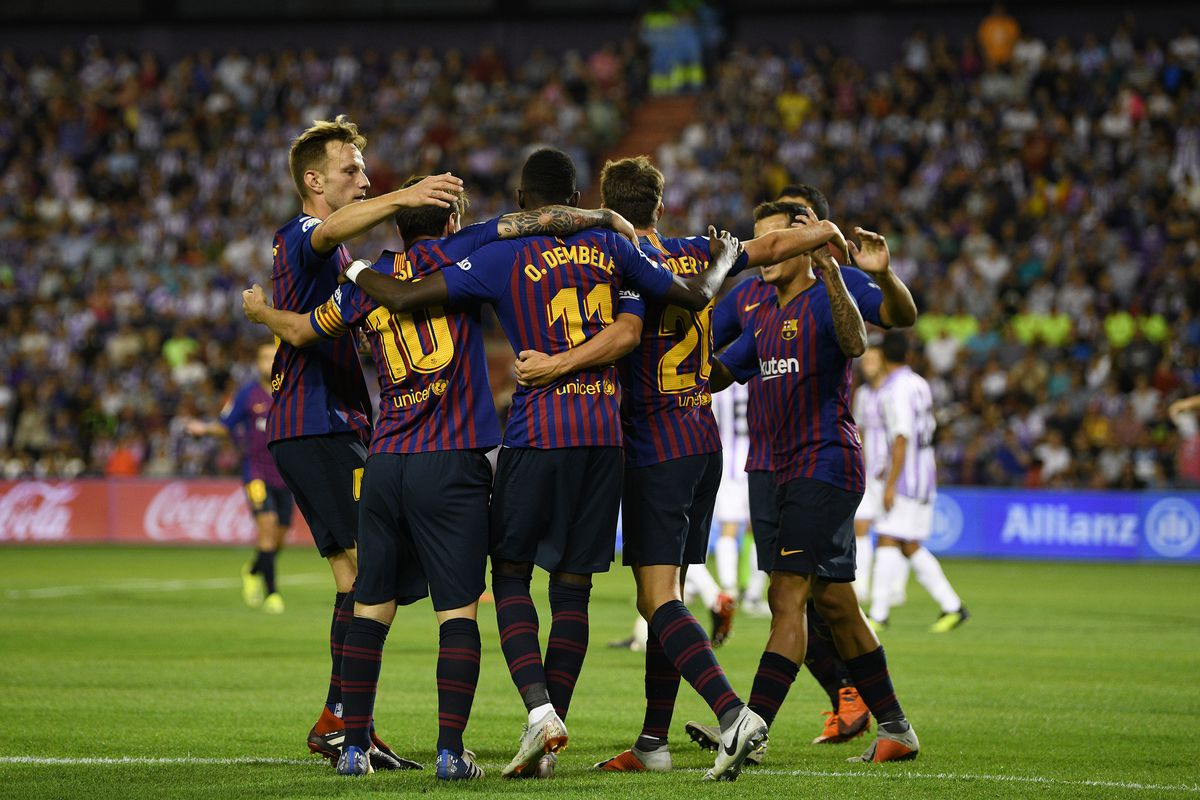 Barca are now 7 points clear at the top of La Liga (Agency Photos)