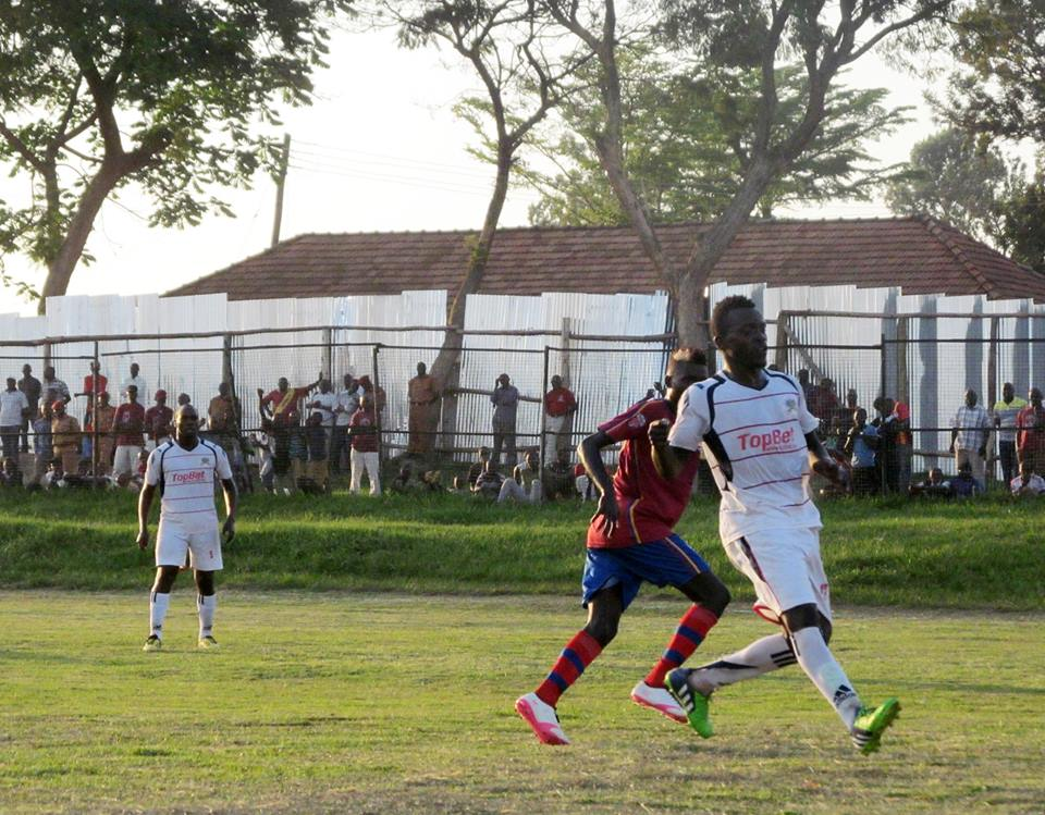 Mbarara (White) defeated Maroons 2-0 in their last game (file photo)