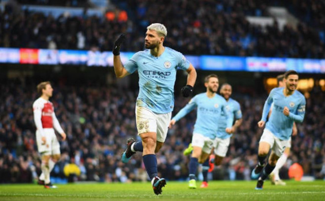 Aguero scored a hat trick this past weekend (Photo by Agency)
