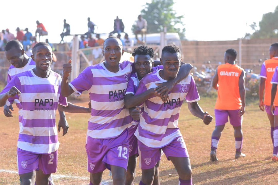 Wakiso defeated Amuka 3-0 in their last game (Photo by Wakiso Media)