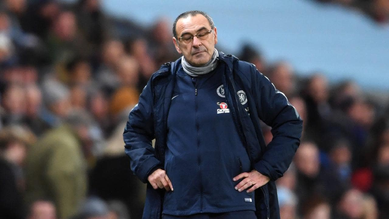 Sarri played a 4:3:3 formation against City on Sunday (Agency Photo)