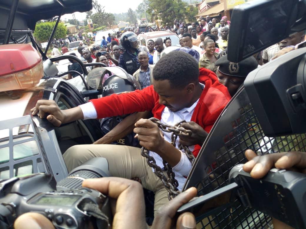 MP Ssewanyana arrested protesting over Kiruddu hospital sewerage