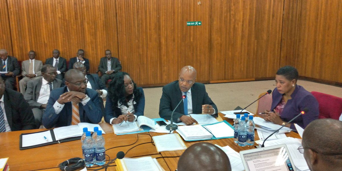 Former MD of defunct International Credit Bank, Patrick Katto takes on COSASE affirming that he wants bank licence reinstated after it was 'ridiculously' taken over by the Central Bank (PHOTO BY Vincent Kassozi)