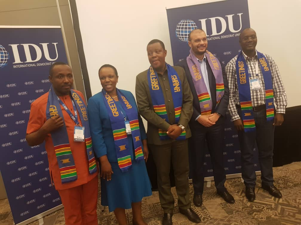 Vocal FDC Secretary for mobilisation, Ingrid Turinawe has been elected as DUA Vice President in the on-going the Democratic Union of Africa (DUA) conference (DUA PHOTO)