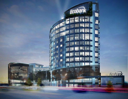 Ecobank Headquarters in Lome.  (PHOTO/File)