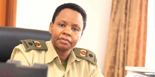 The State House Anti-corruption Unit's Lt. Col. Edith Nakalema has arrested more civil servants as the president Museveni sanctioned team combs Lango Sub-region (FILE PHOTO)