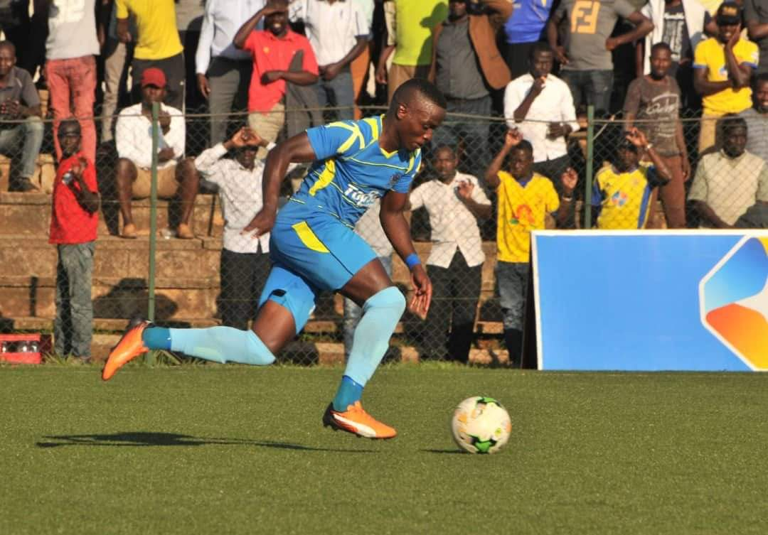 Mucurezi will be one of the Key players when Mbarara visit Maroons on Tuesday (file photo)