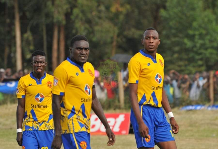 KCCA have not lost a League game since early December (file photo)