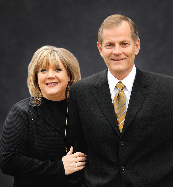 Gary E. Stevenson and his wife, Lesa