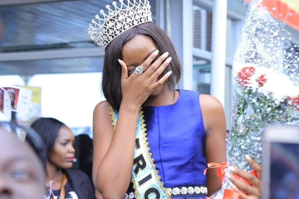 """Communications Specialist and Director of Communications at the Parliament of Uganda, Chris Obore has slammed critics for questioning Miss World Africa, Ms Quiin Abenakyo's academic qualifications, labelling them 'Blood"""" (FILE PHOTO)"""