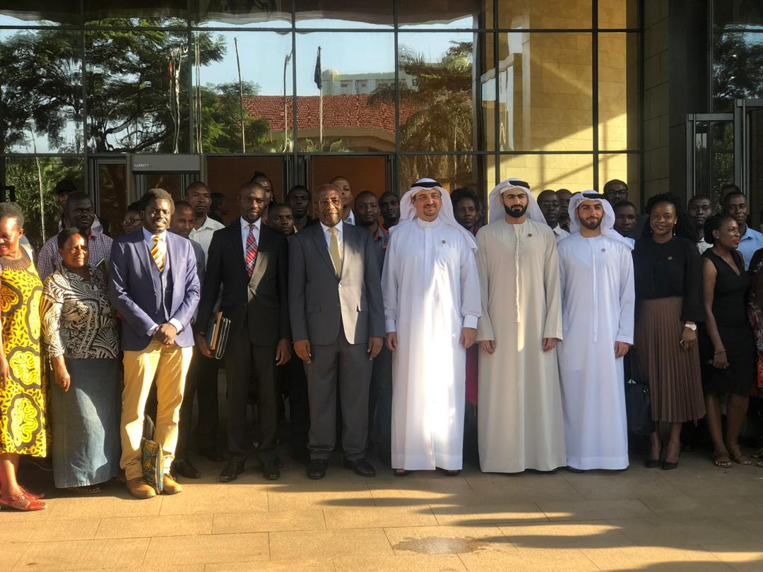 The business delegation from Dubai is in Uganda to discuss Uganda - United Arabs Emirates relations (Photo by Abraham)