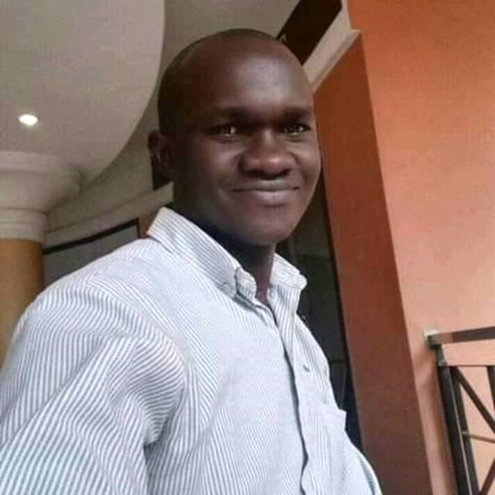 An employee of MTN Uganda, Julius Shuwu, , who was killed in the wee hours of Thursday morning in Kisalosalo-Kyebando, Kawempe Division in Kampala (@shuwu2ju PHOTO)