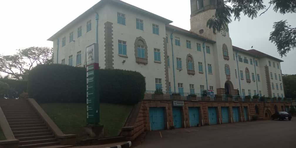 Makerere University main building. (PHOTO BY NELSON MANDELA)