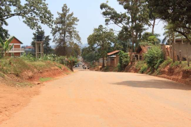 Mutungo-Biina, Kampala city suburbs. A security guard shot a thug dead in a foiled attack on 2 residents in the wee-hours of the morning (FILE PHOTO)