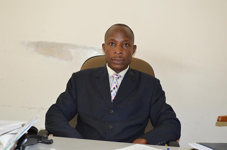 Ntungamo District Health Officer Dr Richard Bakamuturaki