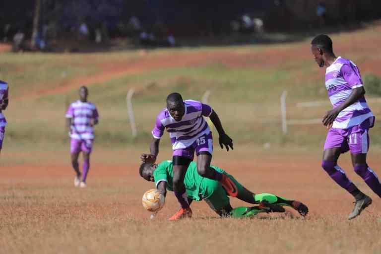 Wakiso (Purple and White) are now 11 games unbeaten in the Big League (Photo by Wakiso Media)