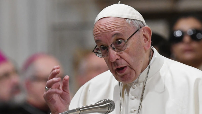 Pope Francis has urged journalists (PHOTO/Courtesy)