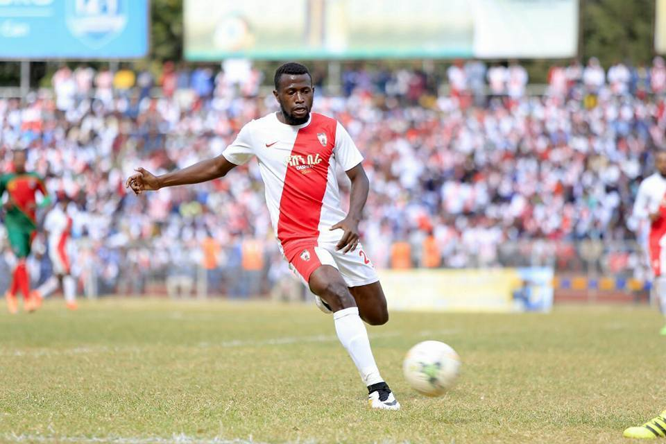 Mugerwa in action for Fassil recently (Agency Photo)