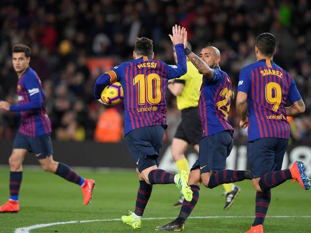 Barcelona drew 2-2 with Valencia last weekend (Photo by Agency)