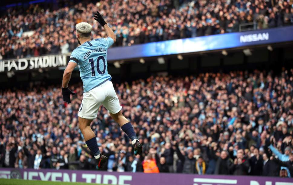 Aguero scored a hat trick this past weekend (Agency Photo)