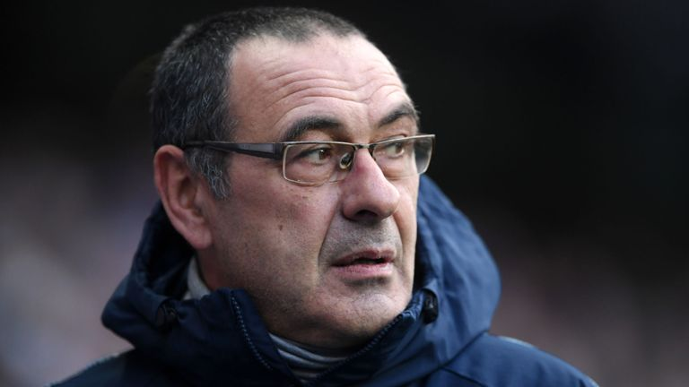 Sarri's Chelsea have been breaching rules in relation to the international transfer and registration of under age players (Agency Photo)