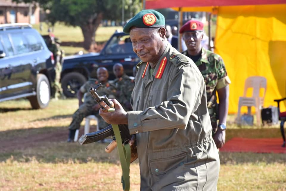UPDF 1st Division Headquarters in Kakiri, Wakiso District, where I interacted with the commanders