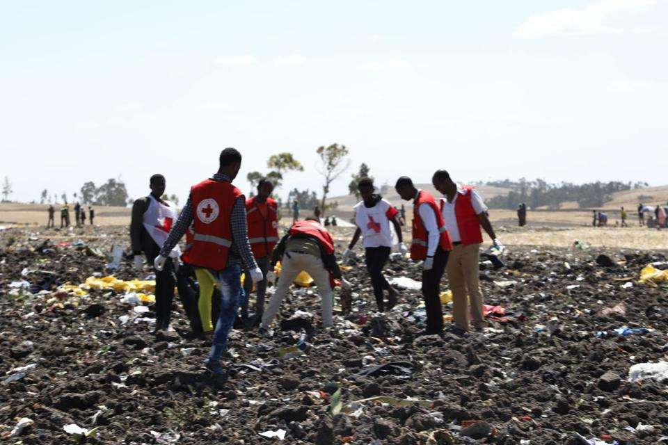 157 people, including 8 Americans, killed in Ethiopian Airlines crash