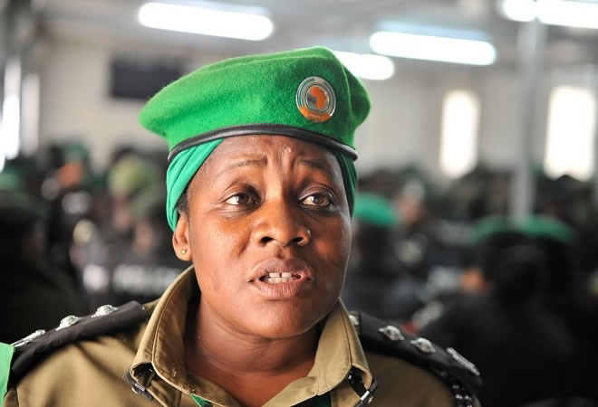 Police spokesperson, Fred Enanga has confirmed that ACP, Alalo Christine attached to AMISOM died in the Ethiopain Airlines crash (COURTESY PHOTO)