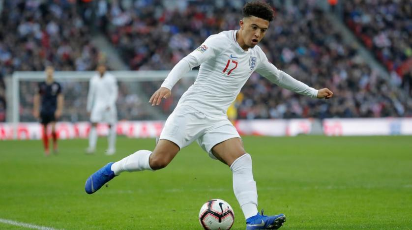 Sancho assisted England's first goal on Friday (Agency Photo)