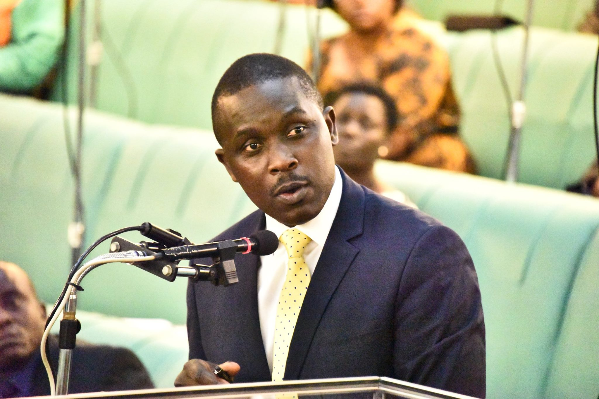 The chairperson Health Committee, Michael Bukenya revealed that data from the Indian High Commission indicates that between 2015-2016, 3200 Ugandans sought medical Visas to India. (PARLIAMENT PHOTO)