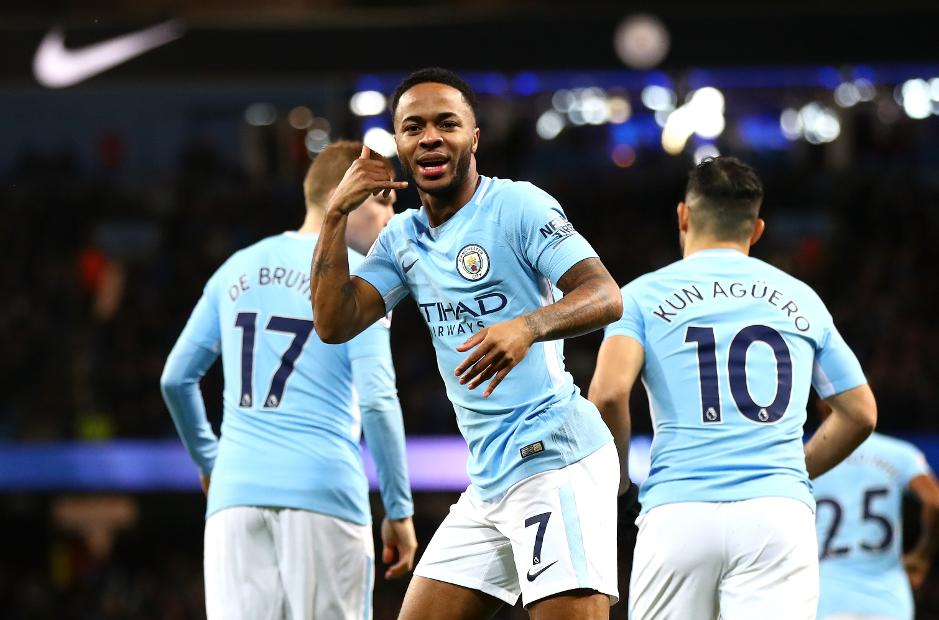 Sterling (7) scored a hattrick in the 3-1 win over Watford on Saturday (Agency Photo)