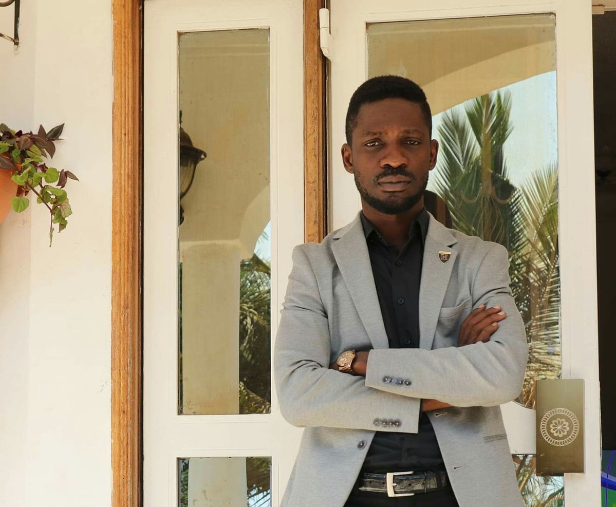 Kyadondo East MP Robert Kyagulanyi alias Bobi Wine, has slammed critics citing that they have no courage (FILE PHOTO)