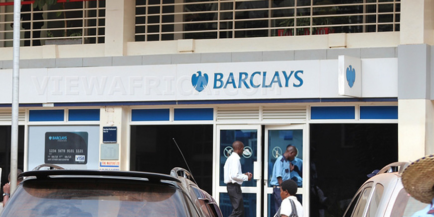 A Barclays Bank branch. Thug, in the wee hours of Tuesday March 12, attempted to break into the Nankulabye Branch (FILE PHOTO)