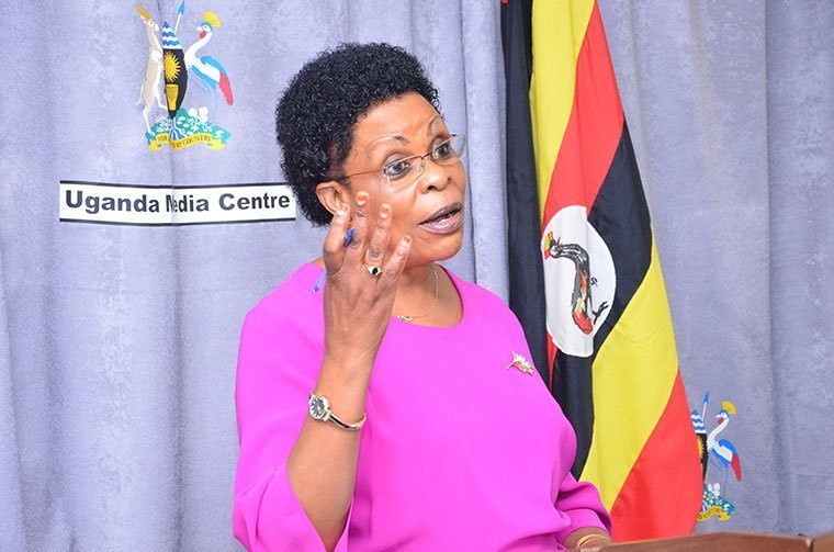 Former presidential candidate Beti Kamya has been sacked by her own party for rallying support for Museveni. (FILE PHOTO)