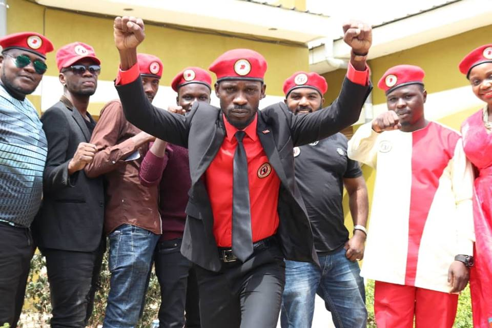 Kyadondo East MP Robert Kyagulanyi