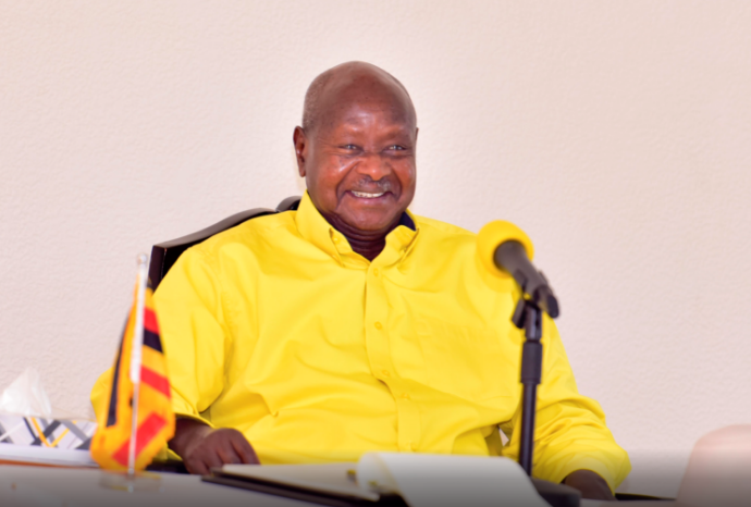 President Yoweri Museveni who happens to be NRM chairman has been endorsed for Presidency in the forthcoming 2021 Presidential elections (FILE PHOTO)